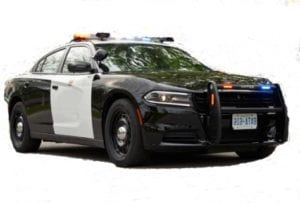 Speed Enforcement with Police Vehicle
