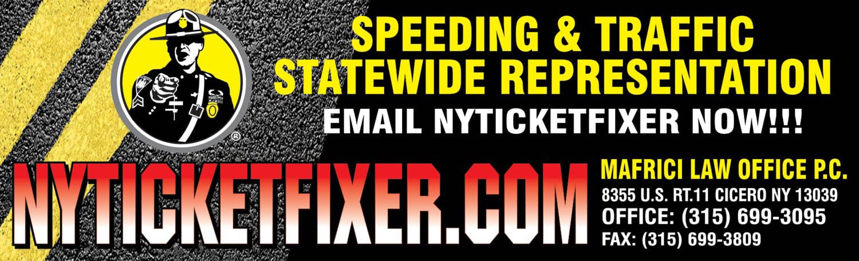 New York Speeding Tickets